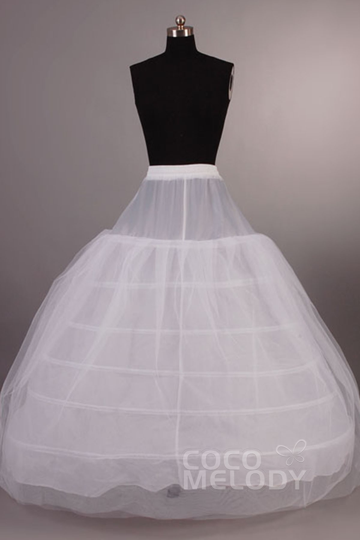 Cocomelody: Ball Gown Floor-Length Tulle Wedding Petticoats CP001300B