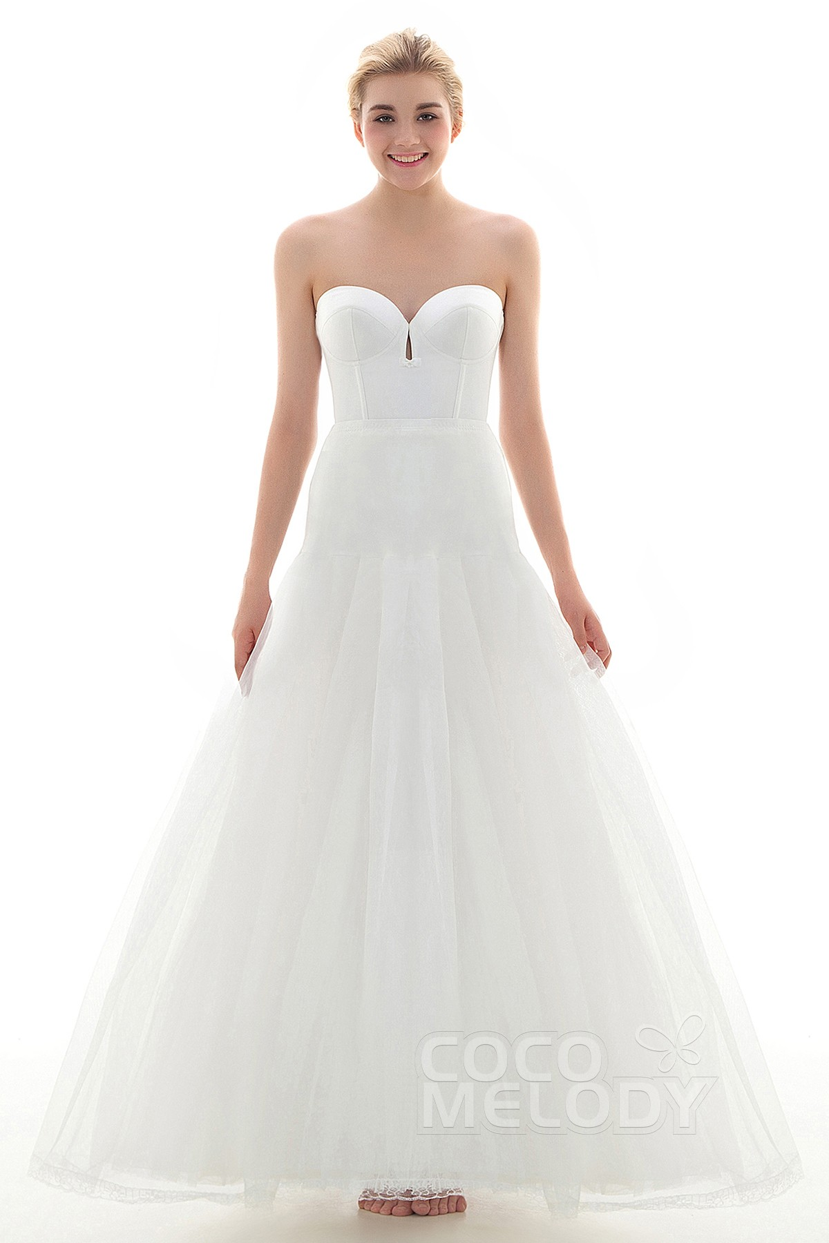 3712401a693a A-Line Floor-Length Medium Fullness Slip Tulle Wedding Petticoats CP001600D