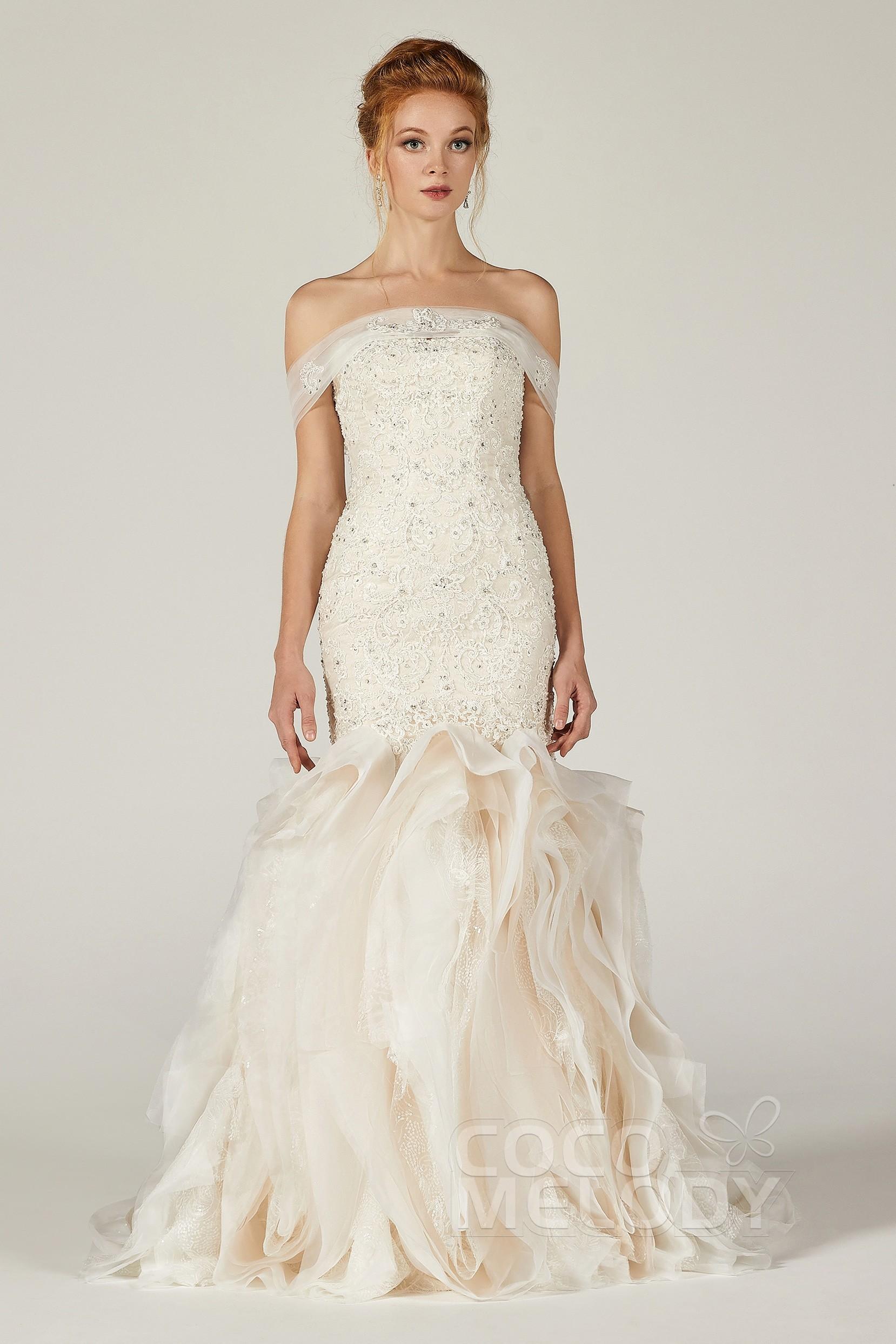 Sweetheart Court Tulle Satin Sleeveless Wedding Dress ...