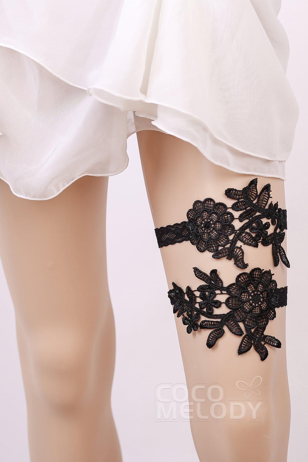 Lace Wedding Garter Wd17029