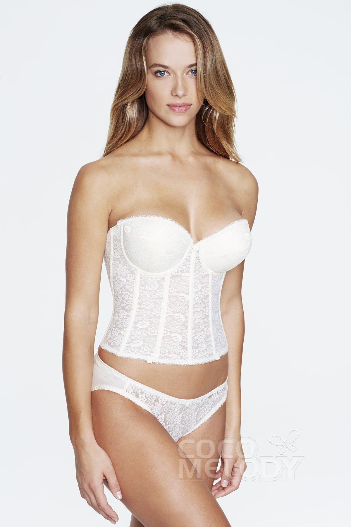 57c6181d2f166 Sweetheart Lace Corset Bridal Bra 7759
