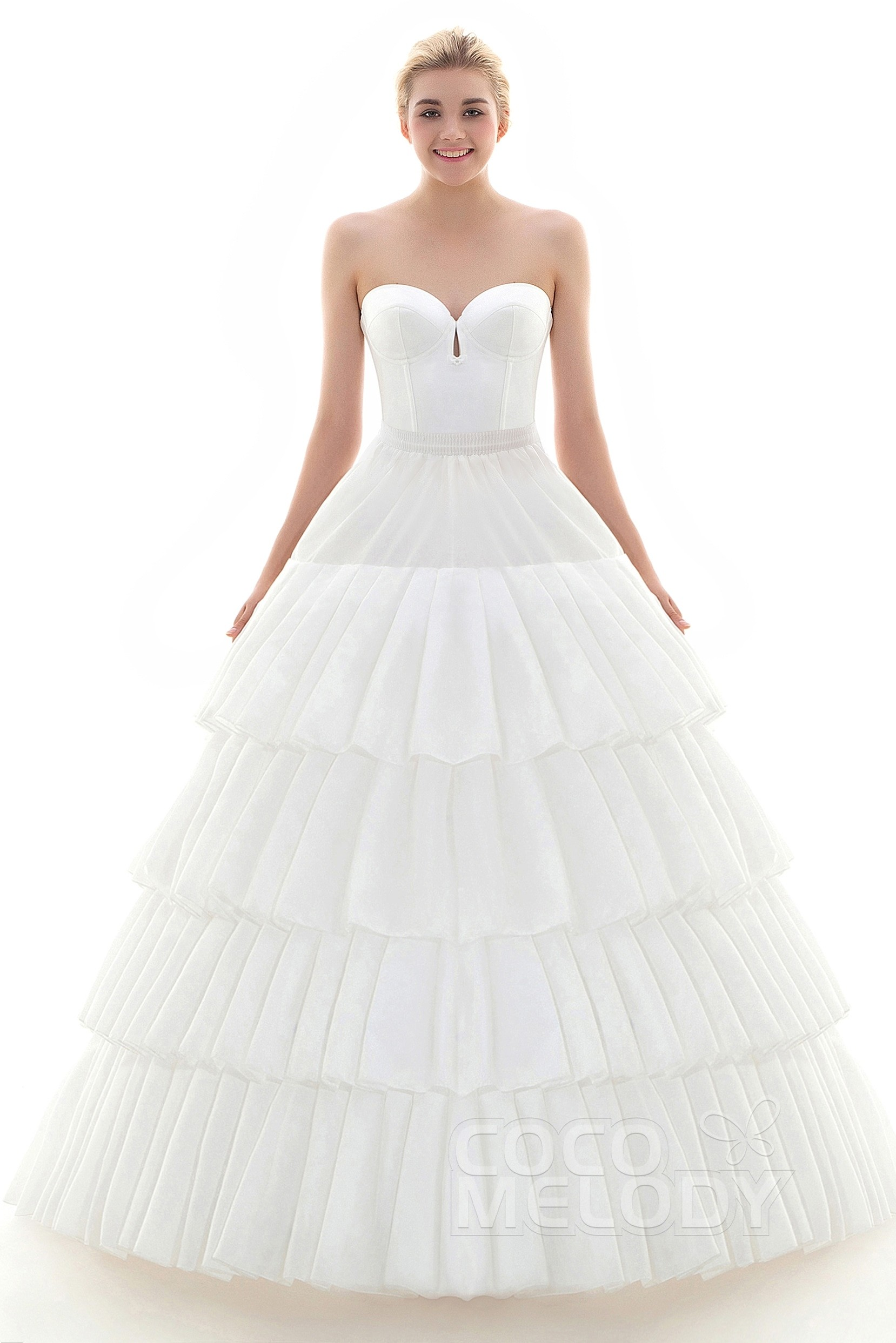 6c7879668e37 Ball Gown Court Train Medium Fullness Slip 4 Hoops Polyester Taffeta Wedding  Petticoats CP0016005