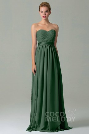 Dark Green Bridesmaids Dresses  e4fd99a92c35
