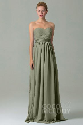 7822419570e Charming Sheath-Column Natural Floor Length Chiffon Sleeveless Zipper  Convertible Bridesmaid Dress with Sashes and · 50 Colors