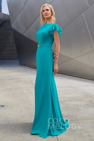6f9b76263e4 Trumpet-Mermaid Floor Length Chiffon Dress PR3609