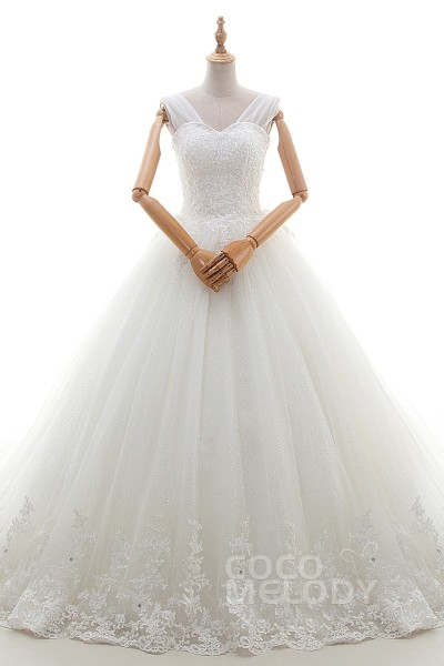 Princess Ball Gown Wedding Dresses   Cocomelody