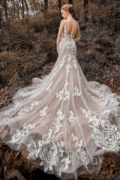 Trumpet Wedding Dresses Mermaid Wedding Gowns Cocomelody,South Indian Wedding Reception Dress Ideas For Bride