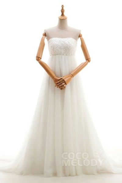 Cheap Empire Wedding Dresses, Empire Waist Wedding Dresses 2019 ...