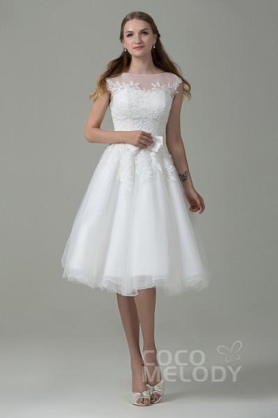 Short Wedding Dresses Reception Dresses Cocomelody