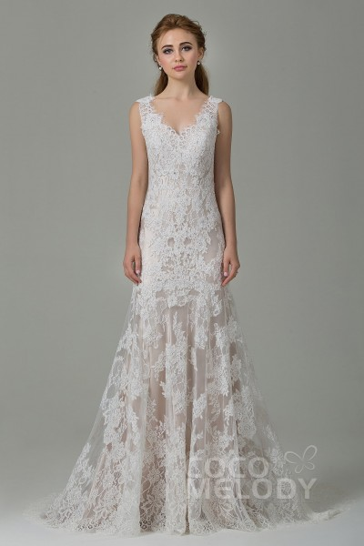 72e21f3c5 Shop Lace Wedding Dresses & Lace Bridal Gowns Online | Cocomelody®