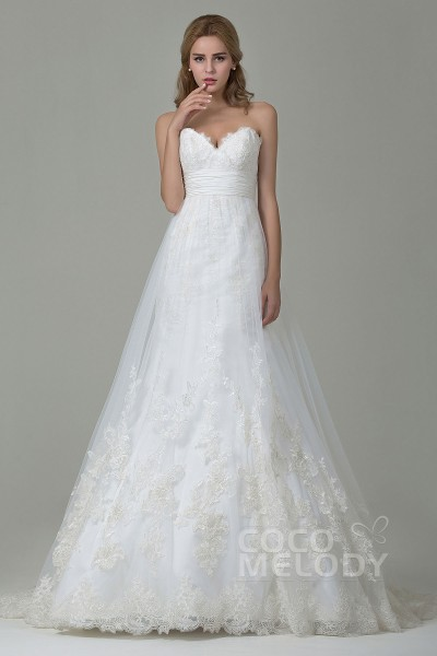 Cocomelody: Trendy A Line Wedding Dresses at Great Prices