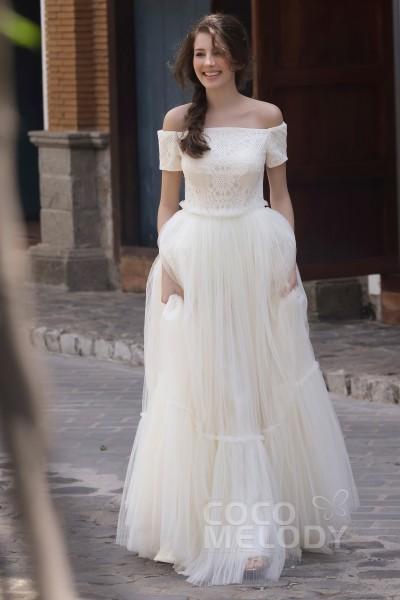 Dark Ivory Wedding Dresses Cocomelody
