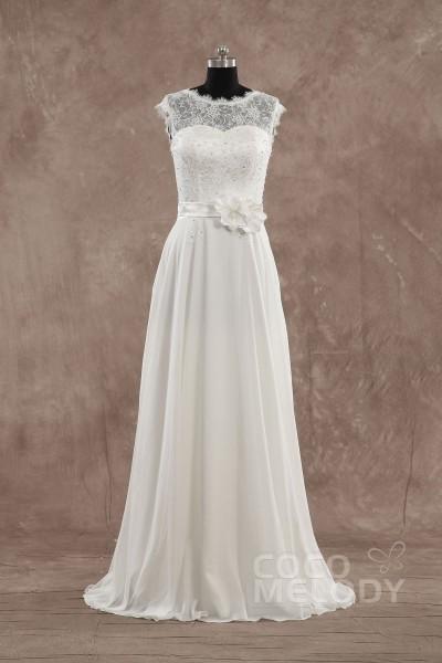 Sheath Column Wedding Dress, Column Wedding Dress With Sleeves ...