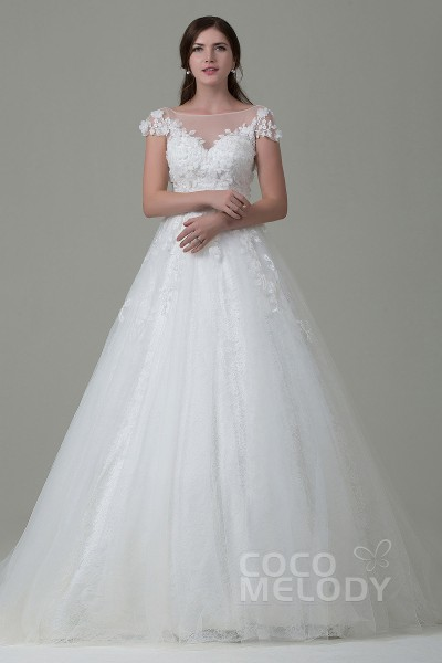 Trendy A Line Wedding Dresses at Great Prices | Cocomelody