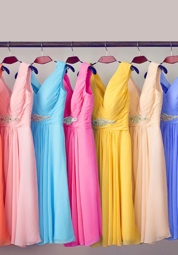 Cocomelody Bridesmaid Dresses By Colors Banner
