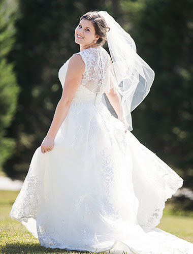 Plus Size Wedding Dresses, Custom Size Bridal Dresses | Cocomelody®