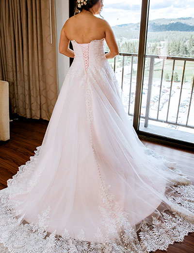 Plus Size Wedding Dresses, Custom Size Bridal Dresses ...
