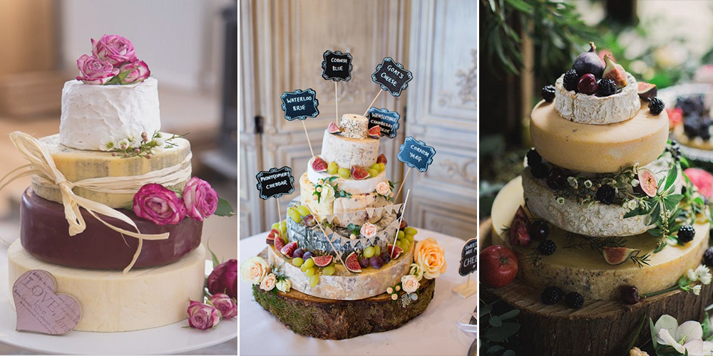 10 Alternative Wedding Cake Ideas