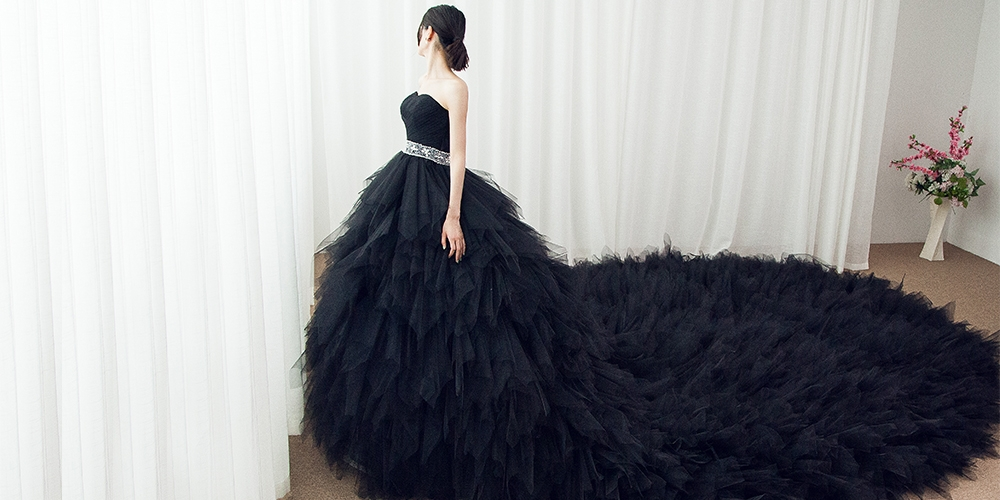 Black Wedding Dress Trend Cocomelody,Wedding Dresses For Rent