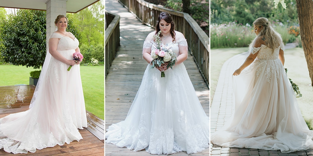 Blog Figure Flattering Plus Size Wedding Dresses Cocomelody