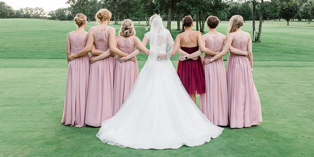 Spring Wedding Colors Bridesmaid Dresses